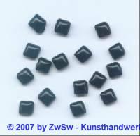 1 Muggelquadrat schwarz 6mm x 6mm