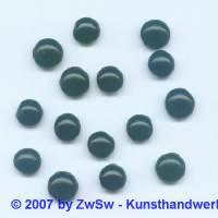 1 Muggelstein schwarz, Ø 7mm