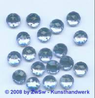 Strassstein 1 Stück, Ø 9mm (hellblau)