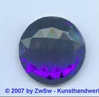 Solitärstein 1 Stück, 30mm Ø  (blau)