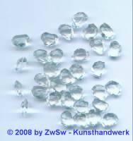 Strassstein 1 Stück, 10mm x 5mm x 7mm (kristall)