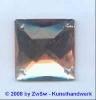 Strassstein 1 Stück, 25mm x 25mm (rosé)