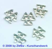 Strassstein 1 Stück, Ø 15mm (kristall)