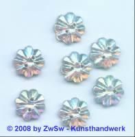 Strassstein 1 Stück, Ø 13mm (kristall/AB)