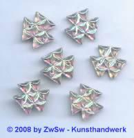 Strassstein 1 Stück, Ø 15mm (kristall/AB)