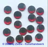 1 Strassstein, Ø 11mm, rot