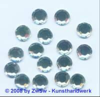 1 Strassstein, Ø 9mm, kristall