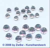 Strassstein/nähen 1 Stück,  Ø 4mm, zartlilla, Acrylglas