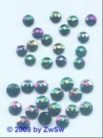 Strassstein/nähen 1 Stück,  Ø 5mm, scarabeus, Acrylglas