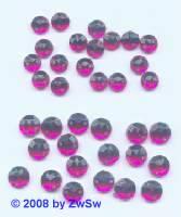 Strassstein/nähen 1 Stück,  Ø 5mm, pink, Acrylglas