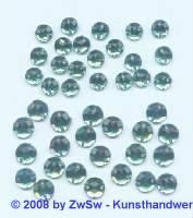 Strassstein/nähen 1 Stück,  Ø 5mm, smaragd, Acrylglas