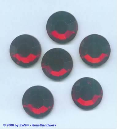 Strassstein 1 Stück,  18 mm rubin