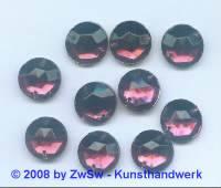 Strassstein 1 Stück, Ø 11mm (amethyst)