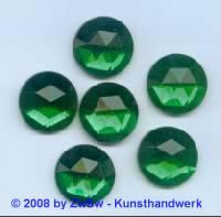 Strassstein, 1 Stück, 9 mm, (grün)