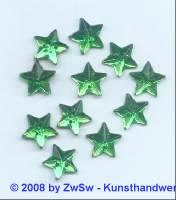 Strassstein, 1 Stück, Ø 11mm (grün)