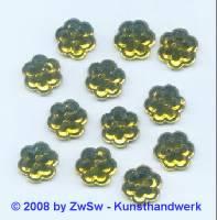 Strassstein, 1 Stück, Ø 10mm  (gelb)
