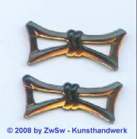 Strassstein, 1 Stück, 43mm x 18mm  (dunkeltopas)