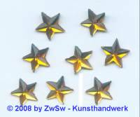 Strassstein, 1 Stück, Ø 15mm  (topas)