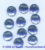 Strassstein, 1 Stück, Ø 12mm  (hellblau)