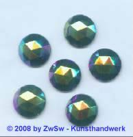 Strassstein, 1 Stück, Ø 15mm  (scarabeus)