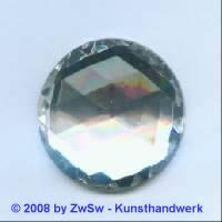 Strassstein, 1 Stück, Ø 30mm  (kristall)