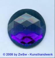 Strassstein, 1 Stück, Ø 30mm  (blau)