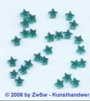 Strassstein, 1 Stück, Ø 5,5mm, (dunkelgrün)