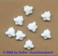 Strassstein, 1 Stück, 9mm x 9mm, (sattweiß)