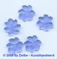 Strassstein, 1 Stück, 18mm x 18mm, (blau)