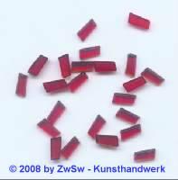 Strassstein, 1 Stück, 7mm x 4mm, (rot)