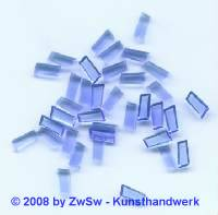 Strassstein, 1 Stück, 7mm x 4mm, (blau)