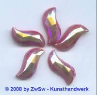 1 Zierstein Welle sattrot/AB, 20mm x 9mm