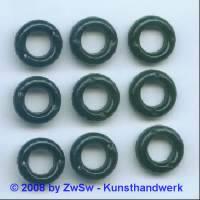 Strassring 1 Stück, (schwarz), Ø 15mm