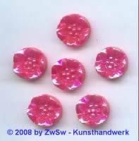 Strassstein 1 Stück, (erdbeer/AB), Ø 14mm