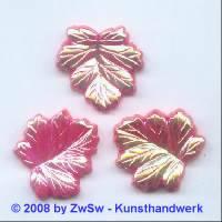 Strassstein 1 Stück, (erdbeer/AB), 25mm x 25mm