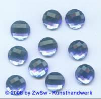 Strassstein, 1 Stück, Ø 12mm (blau)