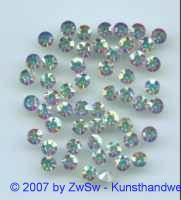 Schmuckstein, SS 19 / 4.40-4.60mm kristall/AB, 1 Stück