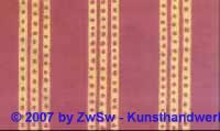 1 Handgefertigtes Papier rot/orange