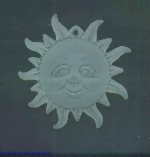 1 Eis-Sonne, ca. Ø 43mm