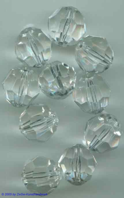 Acrylglasperlen Ø 12mm, 12 Stück
