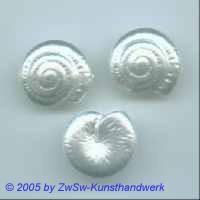 1 Solitairperle Ø 20mm Schnecke