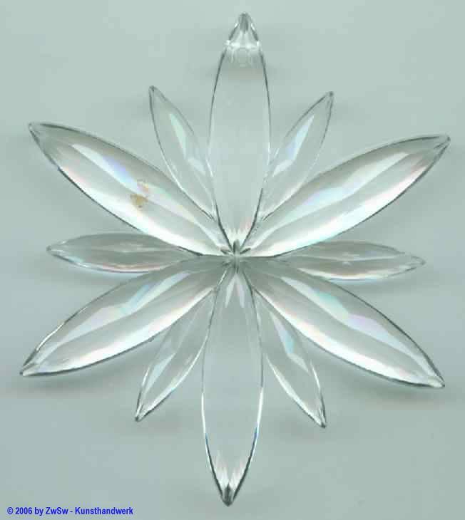 Eiskristall, ca. Ø 80mm, kristall