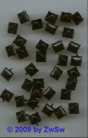 Quadrat, 1 Stück, 9mm x 9mm, schwarz