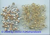 Swarovski-Steine mit Tüllfassung