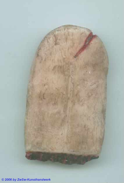 Nepomuk-Zunge, 5,4cm x 3,2cm